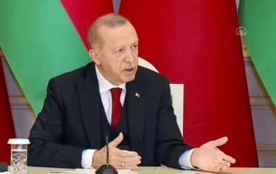 Президент Турции выдвинул Армении условии дружбы