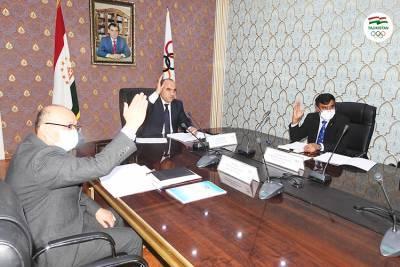 Заседание Национального олимпийского комитета Таджикистана состоится 29 декабря