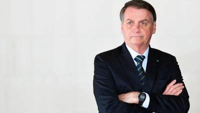 Президент Бразилии отказался вакцинироваться от COVID-19