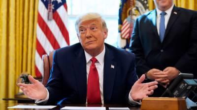 Трамп останется в Белом доме после инаугурации Байдена