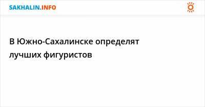 В Южно-Сахалинске определят лучших фигуристов