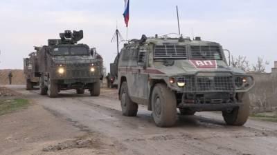 Россия и Турция провели совместное патрулирование на севере Сирии