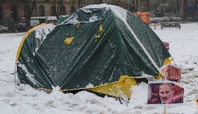 Пашинян должен уйти в отставку - Протесты у правительства Армении продолжают в палатках, видео - ТЕЛЕГРАФ