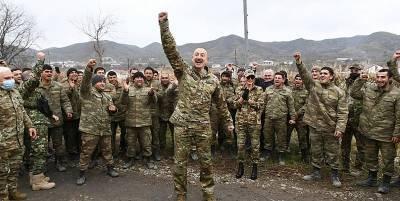 Нагорный Карабах сегодня - Алиев повалил на землю табличку Армении в Арцахе, видео и новости Карабаха - ТЕЛЕГРАФ