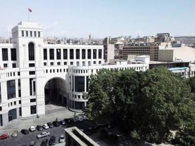 """Ситуация в Карабахе: МИД Армении отреагировал на решение Сената Франции о """"признании Карабаха"""""""