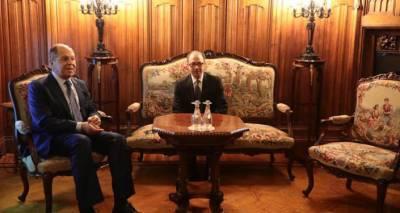В Москве стартовали переговоры глав МИД Армении и России
