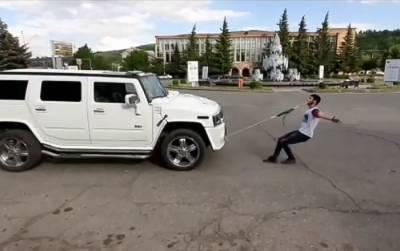 """""""Чтобы соседи видели силу армянина"""": подросток из Чаренцавана установил мировой рекорд"""