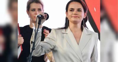 """""""Выстоим и победим"""": Тихановская призвала белорусов выйти на марш протеста (видео)"""