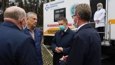 В Ленобласть поступит первая партия российской вакцины от COVID-19