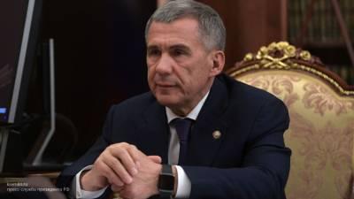 Нынешний президент Татарстана Минниханов лидирует на выборах главы региона