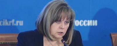 Памфилова заявила о беспрецедентном хамстве и агрессии наблюдателей