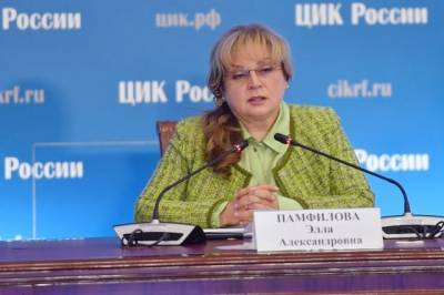 Памфилова заявила о серьёзных претензиях к ряду комиссий