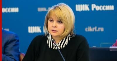 Памфилова обвинила наблюдателей на выборах в беспрецедентном хамстве