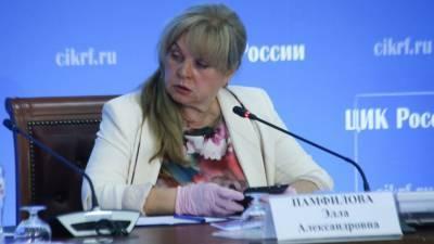 Памфилова рассказала о «беспрецедентном хамстве» на избирательных участках