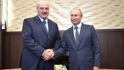 Встреча Путина и Лукашенко длилась более четырех часов