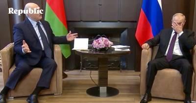 Российские политологи о встрече Путина и Лукашенко
