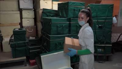 Ленобласть получила первую партию вакцины от COVID-19