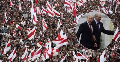 Встреча Путина и Лукашенко: белорусы отправили обоим послание