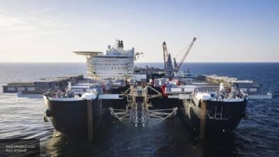 """Российское судно вышло в Германию для достройки """"Северного потока — 2"""""""