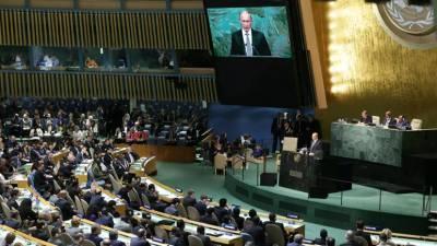 В Кремле рассказали, когда Путин запишет выступление для ГА ООН
