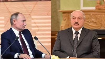 На росТВ показали неизвестные кадры встречи Путина и Лукашенко