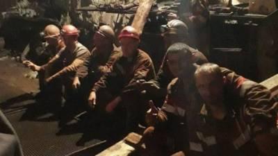 Протест шахтеров в Кривом Роге: девять участников акции госпитализированы