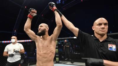 Чимаев за 17 секунд нокаутировал Мёршерта на турнире UFC Fight Night 178