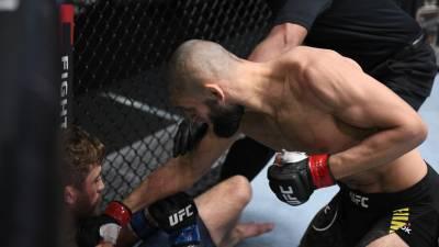 В сети появилось видео нокаута Чимаева на турнире UFC Fight Night 178