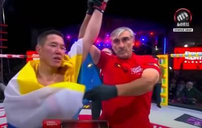 Бурятский боец одержал победу в поединке «Fight night global 97» в Элисте