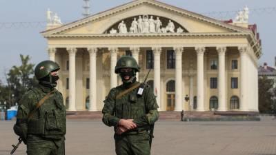 Задержаны несколько человек перед протестной акцией в Минске