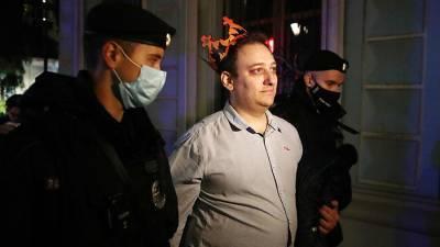 Порядка 10 человек задержаны у посольства Белоруссии в Москве