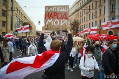 «Отпусти народ»: 50-й день протестов в Беларуси против Лукашенко — фото с высоты птичьего полета (ФОТО)