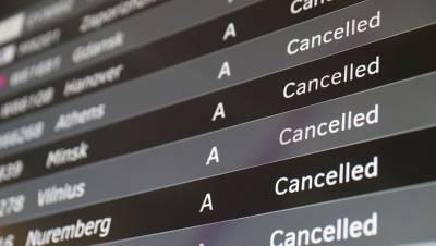 Свыше 20 рейсов задержано и отменено в Москве