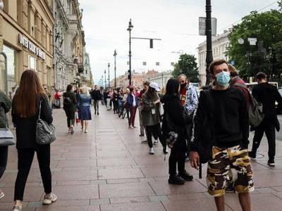 В Петербурге и области за сутки зарегистрировано 300 новых случаев заражения COVID-19