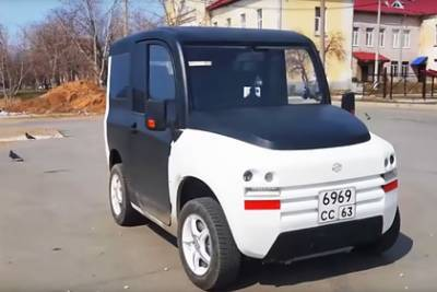 На создание первого серийного российского электромобиля не хватило денег