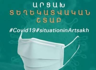 В Арцахе зарегистрировано 2 новых случая заражения новой коронавирусной инфекцией