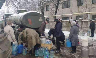 Террористы «ДНР» блокируют водоснабжение мирных жителей
