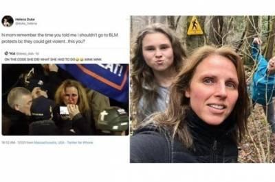 Американка, уличившая мать в штурме Капитолия: мне грустно, что я связана с ней