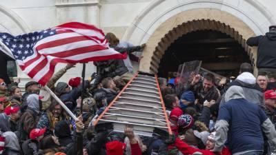 Американский художник отреагировал на штурм Капитолия, нарисовав картину