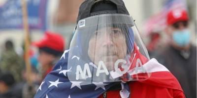 Трамп обвинил сторонников Антифа в штурме Капитолия США — Axios