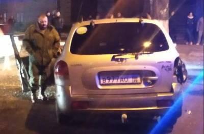 В Луганске пьяный террорист «ЛНР» совершил ДТП