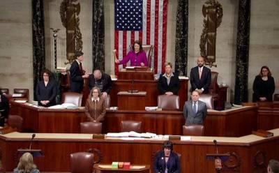 В Когрессе США согласован проект резолюции об импичменте Трампу
