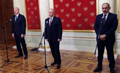 Eurasianet (США): лидеры Армении и Азербайджана провели первую встречу после войны