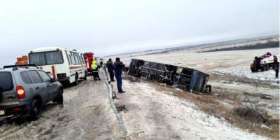 В РФ автобус сообщением Москва-Донецк попал в смертельное ДТП
