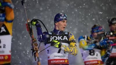 Биатлон: украинец Пидручный финишировал в топ-10 спринта Кубка мира