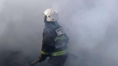 Огнеборцы потушили пожар в омской больнице для больных коронавирусом