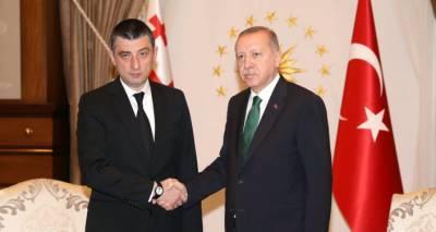 """""""Дорогой друг"""" - Эрдоган отправил Гахария поздравительное письмо"""
