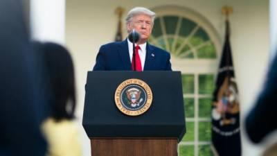 Призываю, чтобы не было никакого насилия, - Трамп обратился к американцам