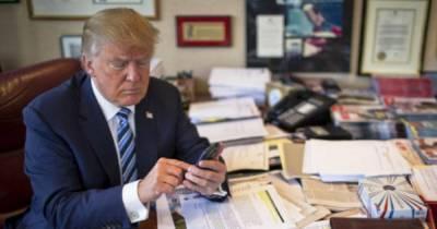 """Telegram-канал, якобы принадлежащий Дональду Трампу, отметили как """"мошеннический"""""""