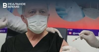 Эрдоган привился от коронавируса китайской вакциной